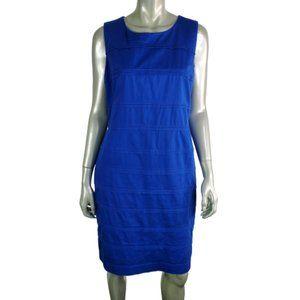 Calvin Klein Blue Sheath Dress  Size 14